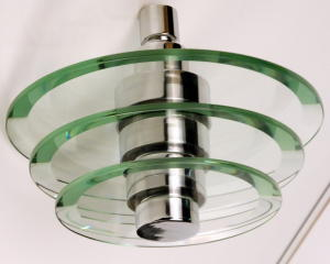 SHOWER HEAD WITH CRYSTAL