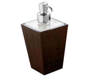 Soap dispenser DISPENSER WITH METAL CHROME