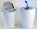 Portacotone Behälters mit Spiegel