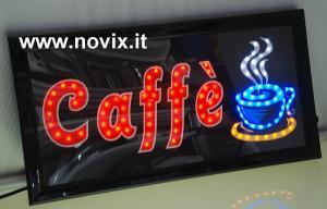 INSEGNA LED CAFFE'