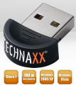 Adattatore Bluetooth Classe 1 USB Dongle Technaxx Mini