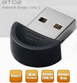 Adattatore Bluetooth Classe 2 USB Dongle OEM Mini