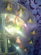 Runder Spiegel mit PENGUINS DEKORIERTE