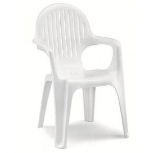 FAUTEUIL LADY SISSI- BLANCHE